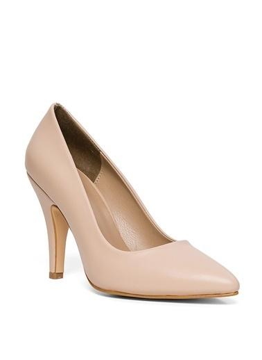 Sole Sisters Topuklu Ayakkabı Bej - Talya2 Ten